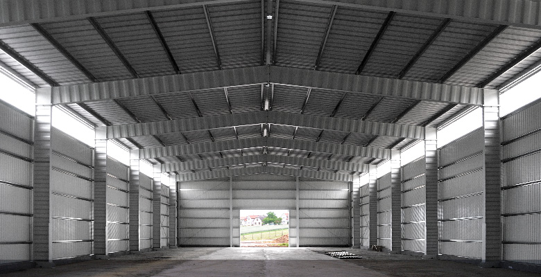 Non-insulated warehouse buildings | BORGA